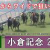 【小倉記念 GⅢ 2019予想】◎二頭からワイドで狙い撃つ!